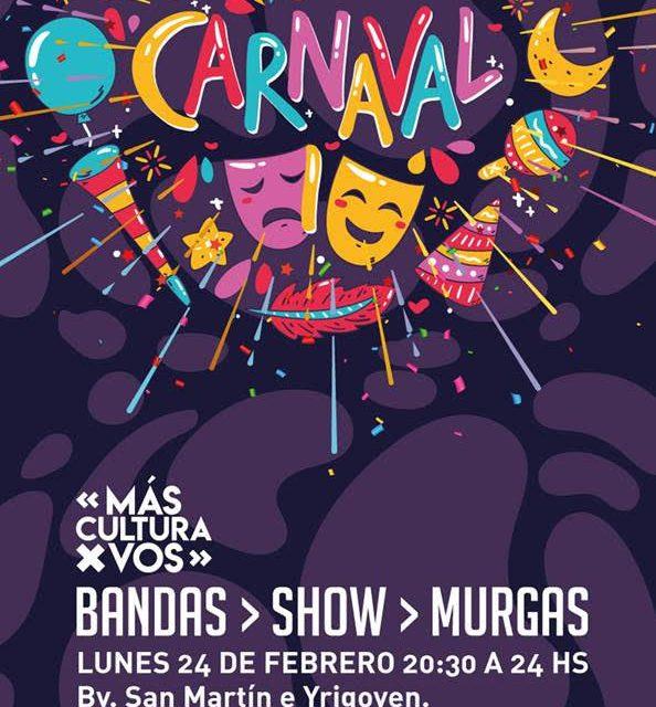 Festejos de Carnaval en Rufino