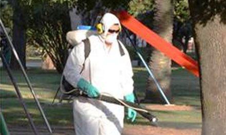 Continúa fumigación contra los mosquitos