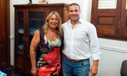 El intendente de Rufino realiza gestiones en Santa Fe