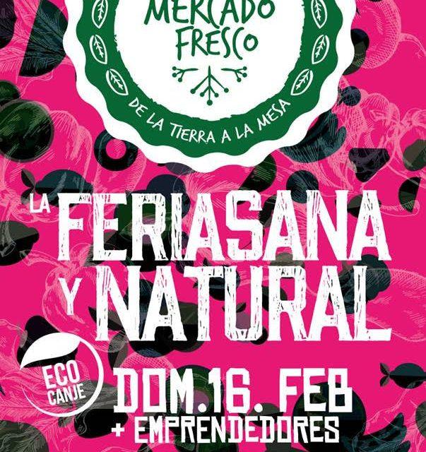 Mercado Fresco y EcoCanje este domingo
