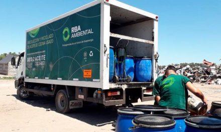 Reciclado de aceite vegetal