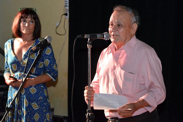 Ubaldo Paredes presentó su libro autobiográfico