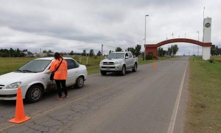 Cierre de acceso por Ruta 7