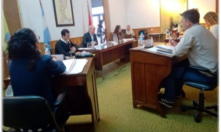 Primer sesión del Concejo Deliberante de Rufino