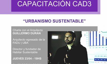 Charla abierta y gratuita on line sobre Urbanismo Sustentable