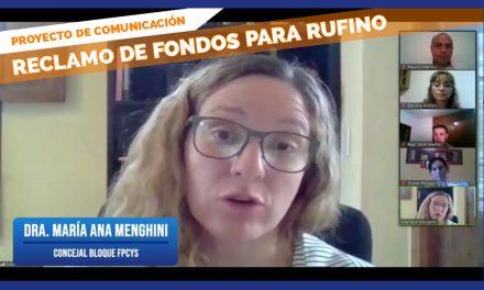 Reclamo de fondos para Rufino