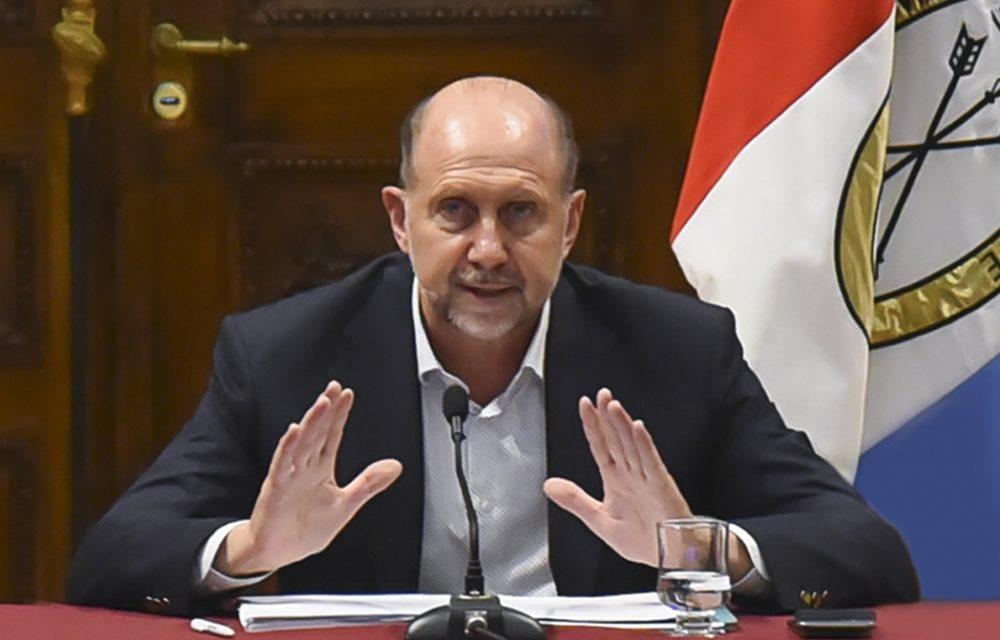 El gobernador Perotti acompaña la decisión del presidente Fernández de continuar la cuarentena