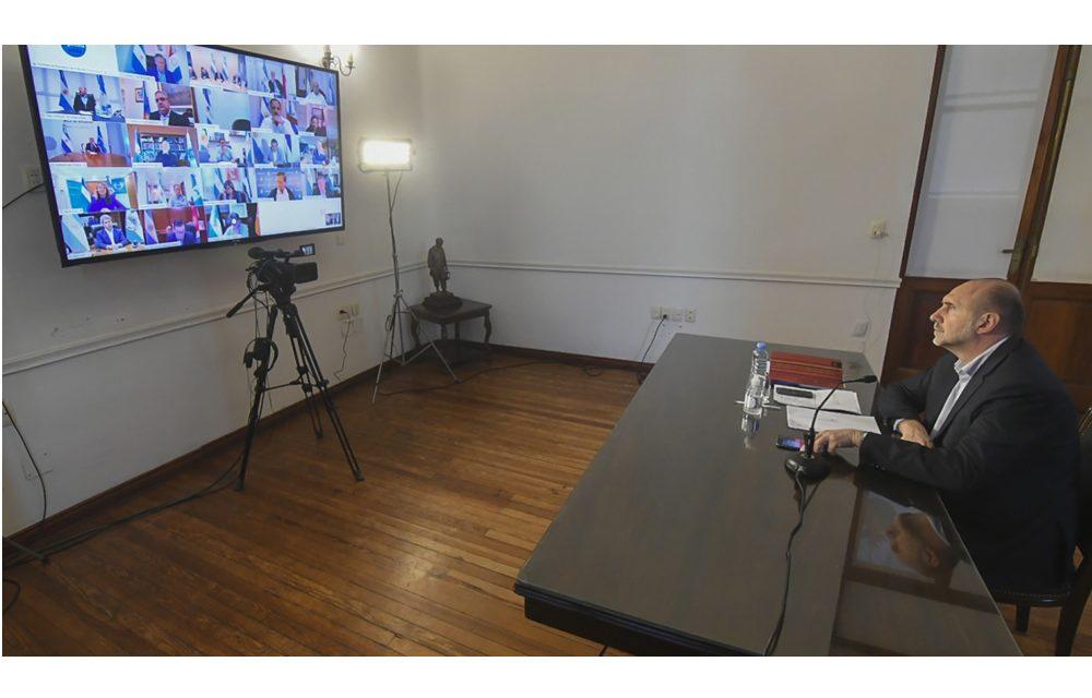 Lattanzi participará de una videoconferencia con Perotti