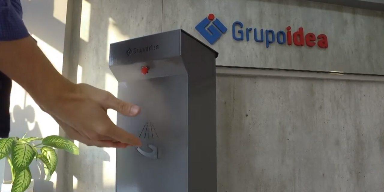 Lanzan un higienizador sin contacto como intento para superar la crisis