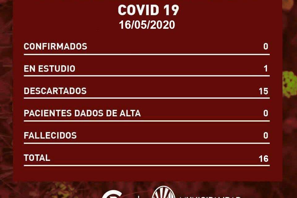 NUEVO CASO SOSPECHOSO DE COVID 19 EN RUFINO