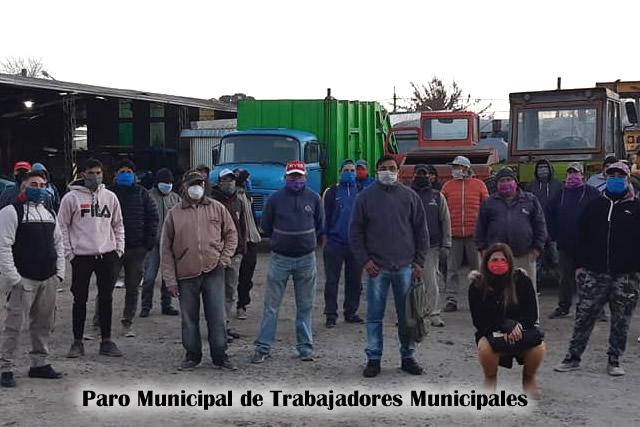 Paro municipal en Rufino