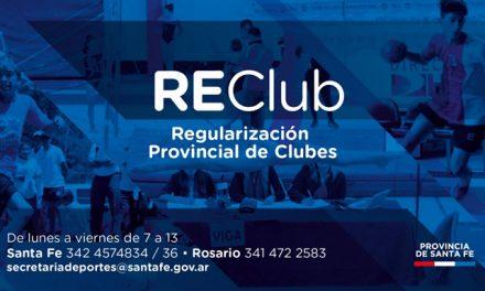 La provincia asiste a los clubes y entidades deportivas a través del programa RECLUB
