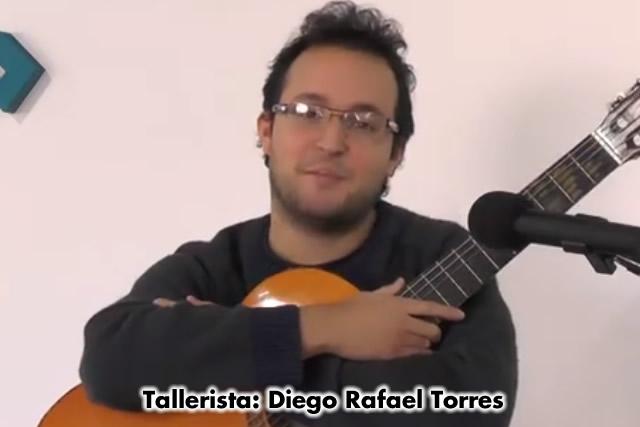 Talleres de Guitarra en el Centro Cultural por el tallerista Diego Rafael Torres