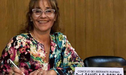 Internas en el partido Justicialista de Rufino, la concejal Daniela Robles continúa en la conducción de la Secretaría General