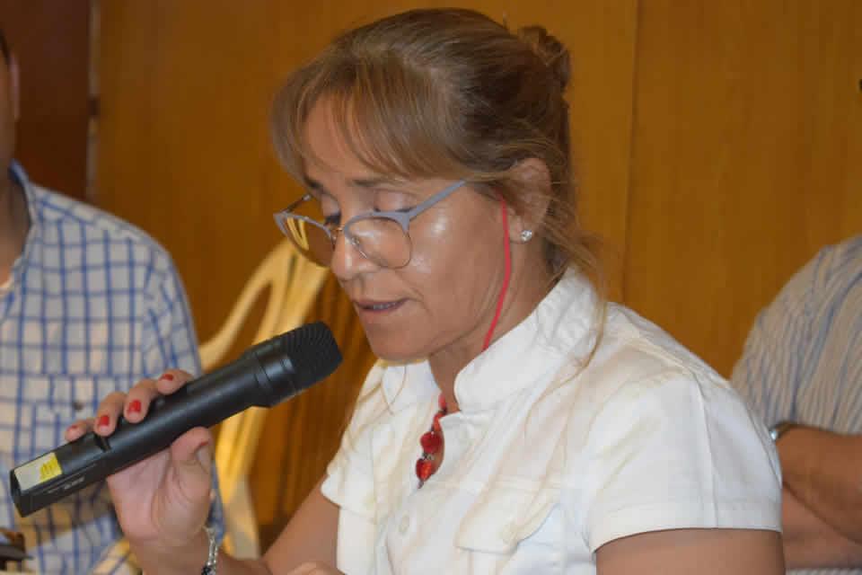 Daniela Robles asumió la presidencia del partido justicialista de Rufino