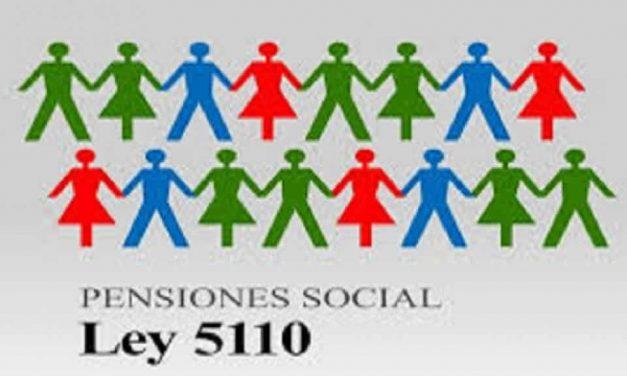 Cronograma de pago de las pensiones sociales Ley 5110
