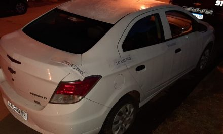 En allanamiento secuestran auto presuntamente involucrado en un robo