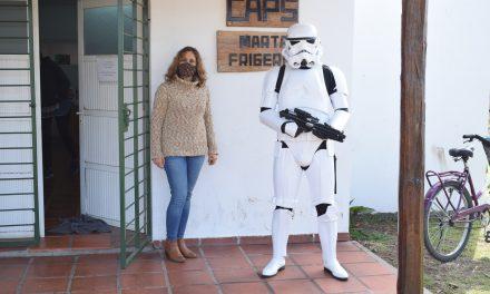 Che Pibe recibió colaboración de la comunidad