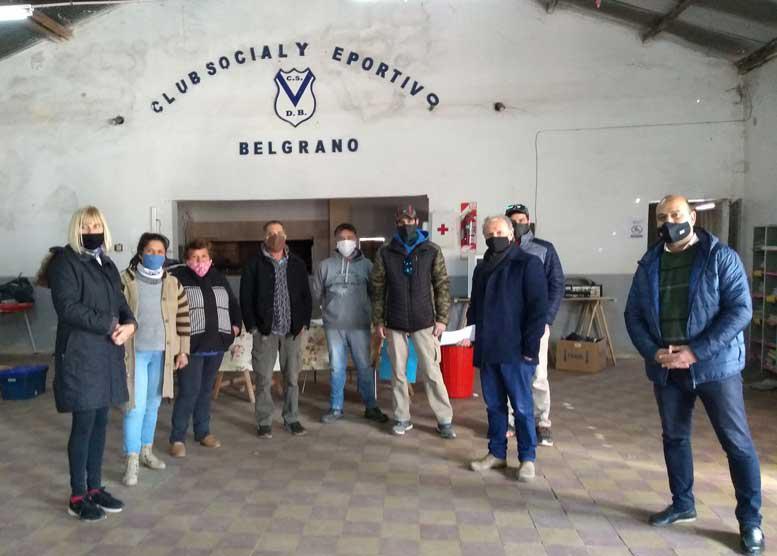 Con el aporte al Club Belgrano del Concejo se comprarán zapatillas