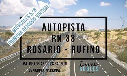 La Senadora Sacnun apoya y acompaña el reclamo por la Autopista 33
