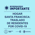 Traslado de residente por Covid-19 en Hogar Santa Francisca