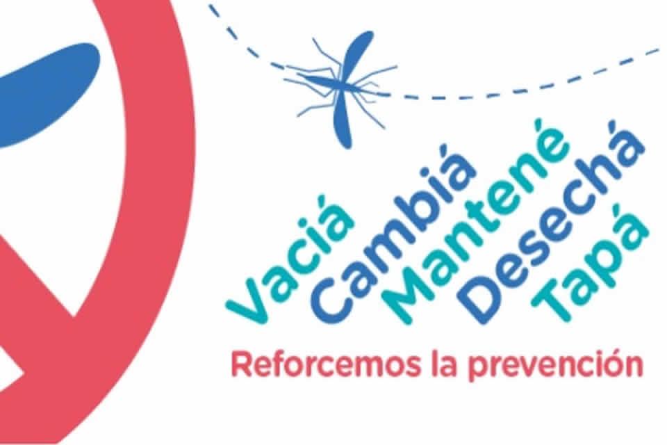 Campaña de descacharrado ante la legada de las lluvias y evitar la proliferación de mosquitos