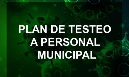 Comenzó el Plan de Testeo al personal municipal