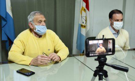 El senador Enrico realizó un aporte para la compra de kits de testeo