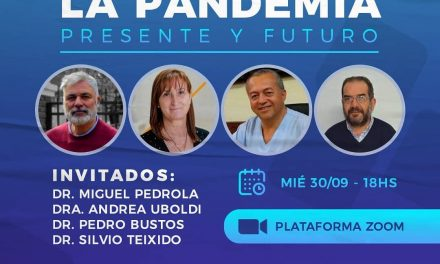 Charla abierta a la comunidad sobre la pandemia del Covid-19