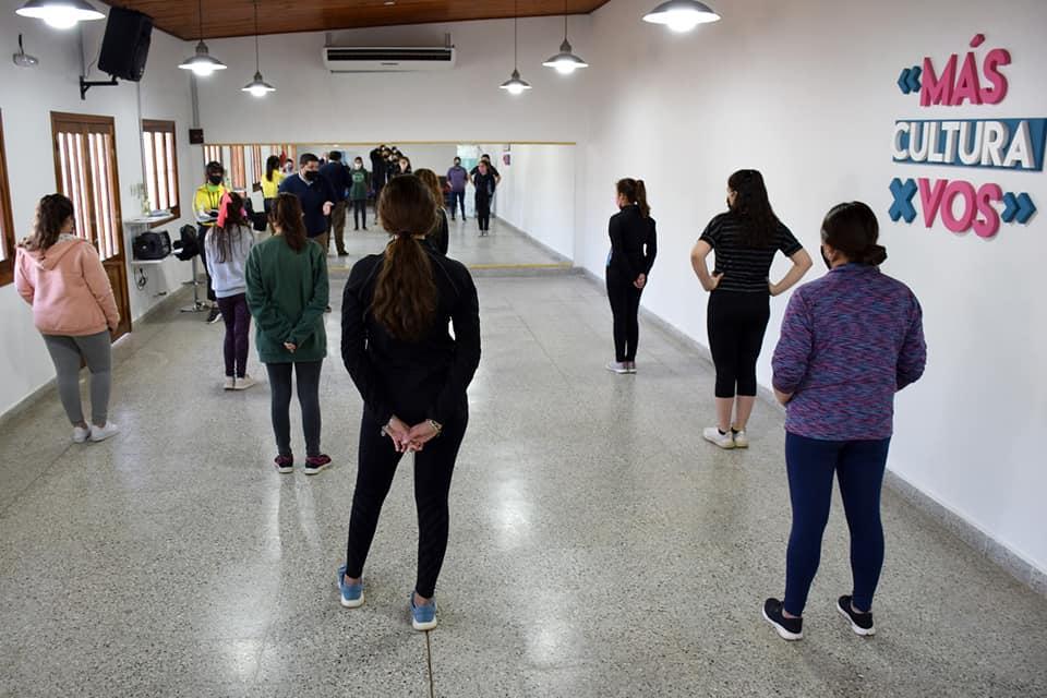Vuelven las clases de Danza al Centro Cultural Rufino