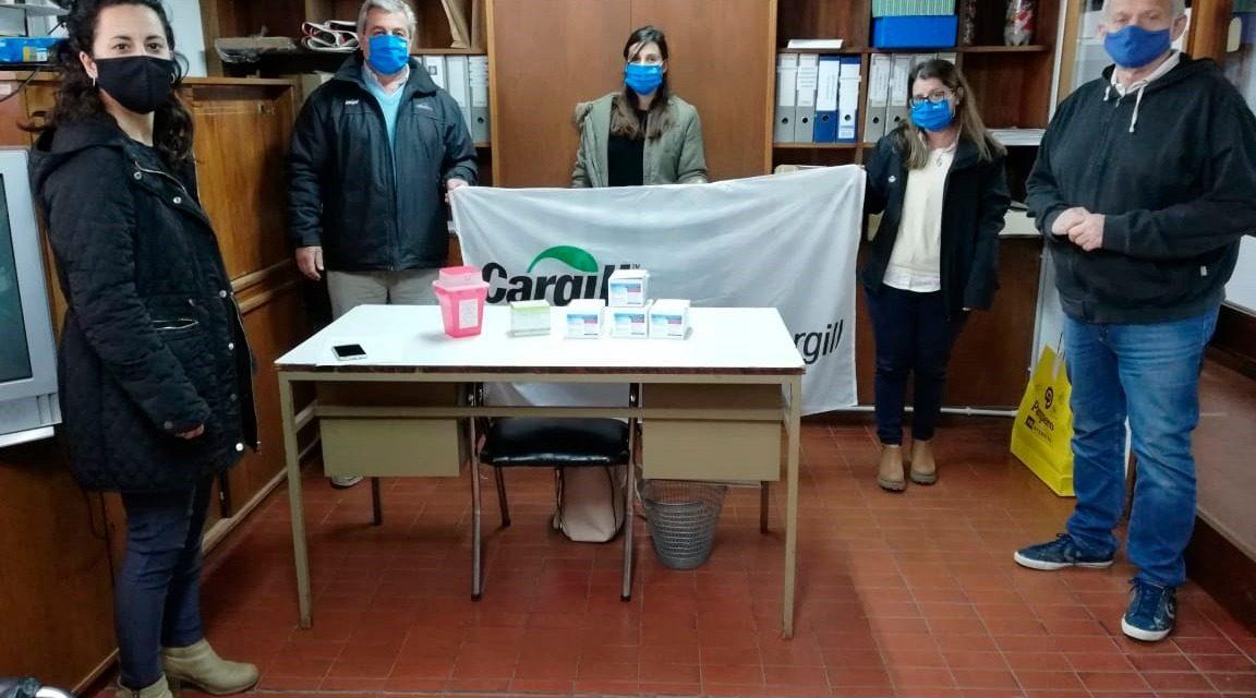 Fundación Cargill donó 80 tests rápidos para Covid-19