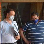 El Senador Enrico acompaña con gestiones la obra del multiespacio comunal de Lazzarino