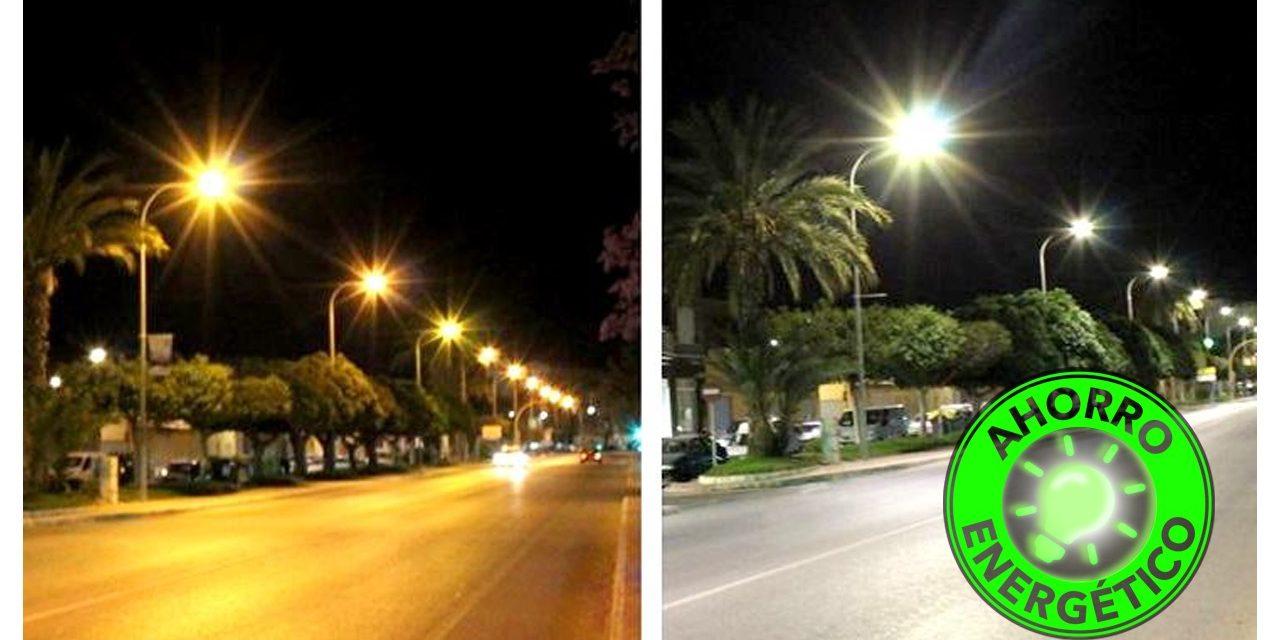 El Senador Enrico impulsa un programa de ahorro energético en la iluminación pública