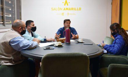 Lattanzi gestiona la continuidad de las obras del camino a Saboya