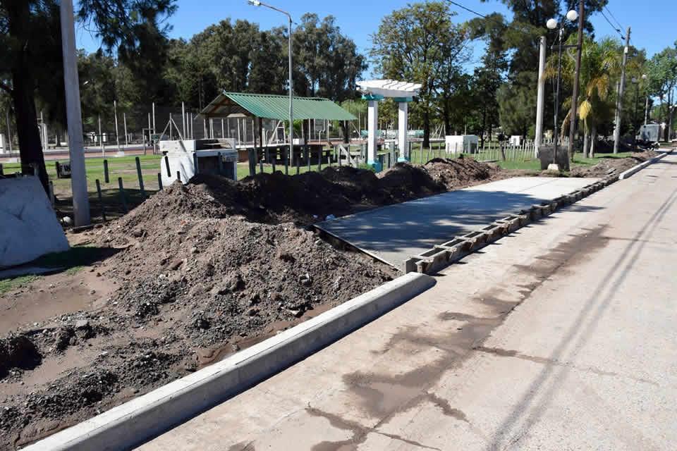 Trabajos en calle garay, corte de tránsito en Bv España y obras en el Cementerio