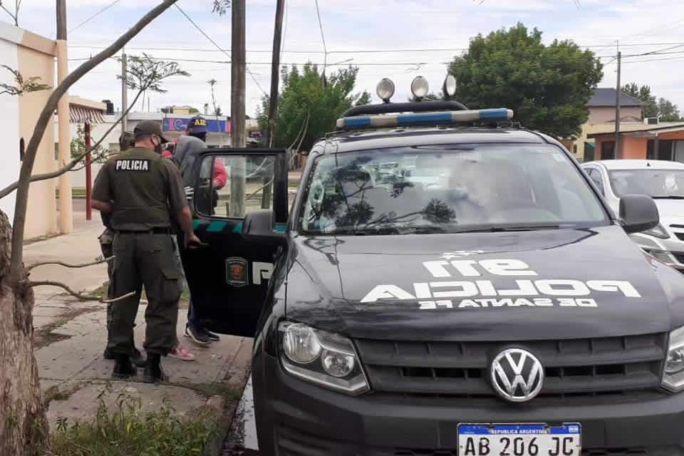 Allanamientos a tres domicilios en Rufino, un detenido y elementos encontrados que tienen relación de un robo a un campo