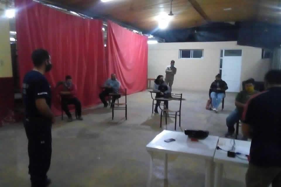 Segunda capacitación sobre «Organización y Aspectos Legales» para aspirante a Bomberos