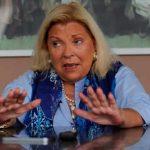 Piden la indagatoria a Carrió en la causa por espionaje ilegal durante la gestión de Macri