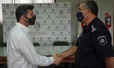 Nuevo Jefe de Policía de la Comisaría Tercera de Rufino