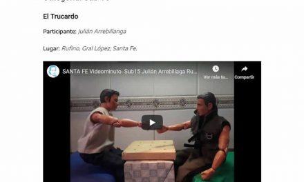 Julián Arrebillaga y Martina Viano, rufinenses en los Juegos Evita