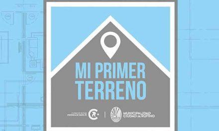 Mi Primer terreno es el plan de venta de terrenos de parte del municipio de Rufino