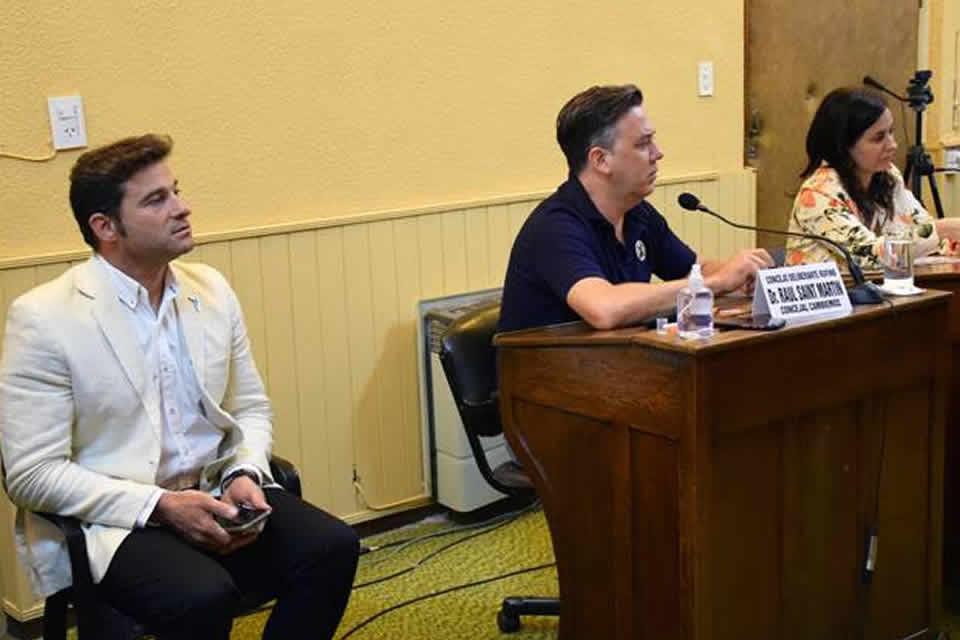 El intendente Lattanzi en cambio de autoridades del Concejo Deliberante de Rufino