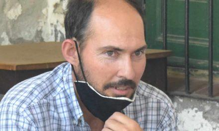 Martín Destéfano nuevo Delegado de la Oficina de Producción de Rufino junto al Programa de Huertas Familiares Santafesinas para Microemprendedores