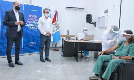 Perotti: «Vamos a desplegar el más ambicioso plan de vacunación en el menor tiempo posible»