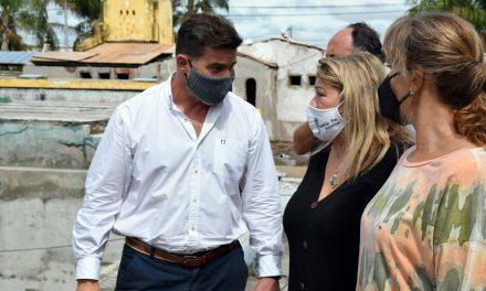 Lattanzi recibió a la Secretaria de Arquitectura y Obras Públicas de la provincia Leticia Battaglia