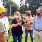 La provincia ejecuta a muy buen ritmo las obras de las piletas del balneario Rufino