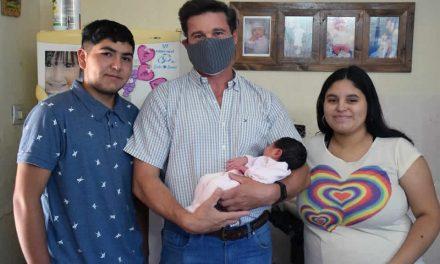 Renata, la primer bebé del 2021