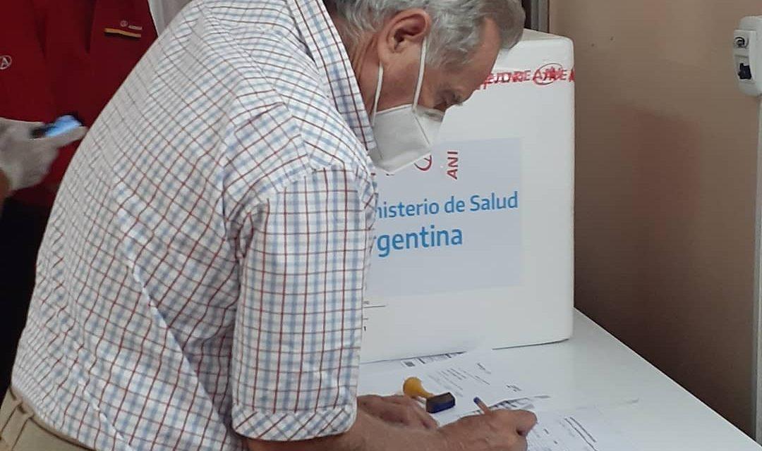 Continúa la vacunación en Rufino contra el Covid-19