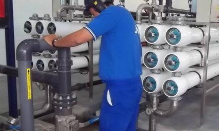 Comienza en Rufino la obra para aoptimizar el funcionamiento de la planta potabilizadora