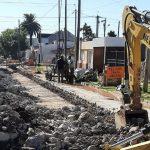 Avanza la obra de renovación del colector cloacal por Catamarca
